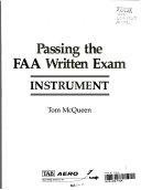 Passing the FAA written exam
