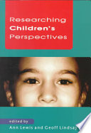 Researching Children S Perspectives