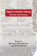 Digital Scholarly Editing