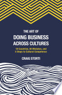 Ebook The Art of Doing Business Across Cultures Epub Craig Storti Apps Read Mobile