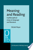 Meaning and Reading