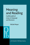 download ebook meaning and reading pdf epub