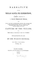 Narrative of the Texan Santa Fé Expedition