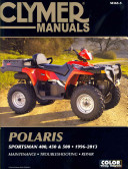 Polaris Sportsman 400 450 500 1996 2013 Manual