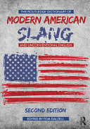 download ebook the routledge dictionary of modern american slang and unconventional english pdf epub