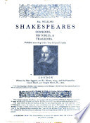 Mr William Shakespeares Comedies Histories Tragedies Etc Reprint Of The First Edition The Famous Folio Of 1623 Extracts From Various Reviews Of The Above Named Reproduction Which Have Appeared In The Public Press