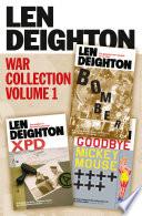 Len Deighton 3 Book War Collection Volume 1  Bomber  XPD  Goodbye Mickey Mouse