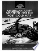 American Army Doctrine for the Post Cold War