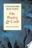 On Poetry and Craft