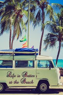 Life Is Better At The Beach Campervan Reading Journal For Logging Books