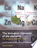 The Biological Chemistry of the Elements Inorganic Elements Essential To Life In Living Organisms