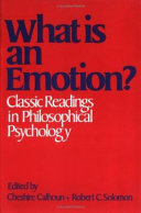 What Is An Emotion