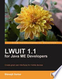 Lwuit 1 1 For Java Me Developers