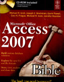 Microsoft Office Access 2007 Bible  W Cd