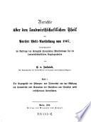 Berichte über den landwirtschaftlichen Theil der Pariser Welt-Ausstellung von 1867