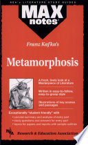 Metamorphosis (MAXNotes Literature Guides) : in a lively and interesting fashion....