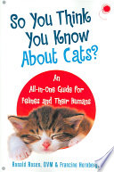 So You Think You Know about Cats