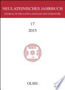 Neulateinisches Jahrbuch