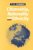 ethnicity and nationalism in society This section provides the list of required books for the course and the schedule of readings by ethnicity and nationalism: comparative study of society and.