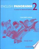 English Panorama 2 Teacher s Book