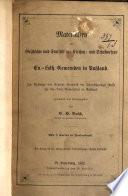 Materialien zur Geschichte und Statistik des Kirchen- und Schulwesens der ev.-luth. Gemeinden in Russland