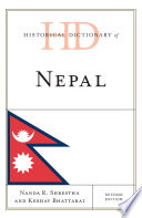 Historical Dictionary of Nepal