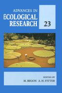 download ebook advances in ecological research pdf epub