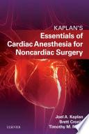 Essentials Of Cardiac Anesthesia For Noncardiac Surgery E Book