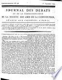 Journal des débats et de la correspondance de la Société des Jacobins, amis de la constitution de 93, séante aux Jacobins à Paris
