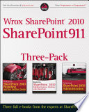 Wrox Sharepoint 2010 Sharepoint911 Three Pack