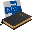 KJV Concord Reference Bible  Black Edge Lined Goatskin Leather  KJ566 XE