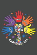 For My Aunt Hope Strength Courage Support Love Autism Awareness Day