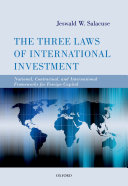 The Three Laws of International Investment Book