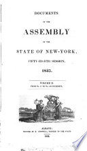 DOCUMENTS OF THE ASSEMBLY OF THE STATE OF NEW YORK  FIFTY EIGHTH SESSION   1835