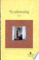 SOU 2003:099 Ny sekretesslag. Del 1