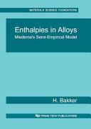 Enthalpies in Alloys