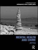 download ebook mental health and crime pdf epub