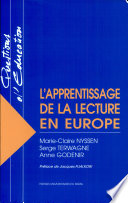 L apprentissage de la lecture en Europe