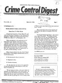 Crime Control Digest