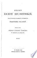 Dějiny doby husitské