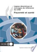 Lignes directrices et ouvrages de référence du CAD Pauvreté et santé