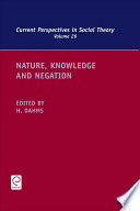 Nature Knowledge And Negation