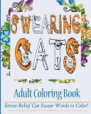 Swearing Cats Adult Coloring Book