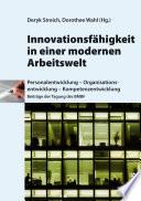 Innovationsfähigkeit in einer modernen Arbeitswelt