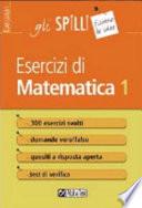 Esercizi di matematica 1