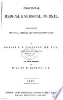 Provincial Medical And Surgical Journal : ...