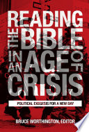 Reading the Bible in an Age of Crisis