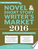 2016 Novel And Short Story Writer S Market book