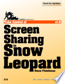 Take Control of Screen Sharing in Snow Leopard