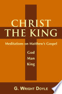 Christ the King The Gospel Of Matthew Presents Jesus As
